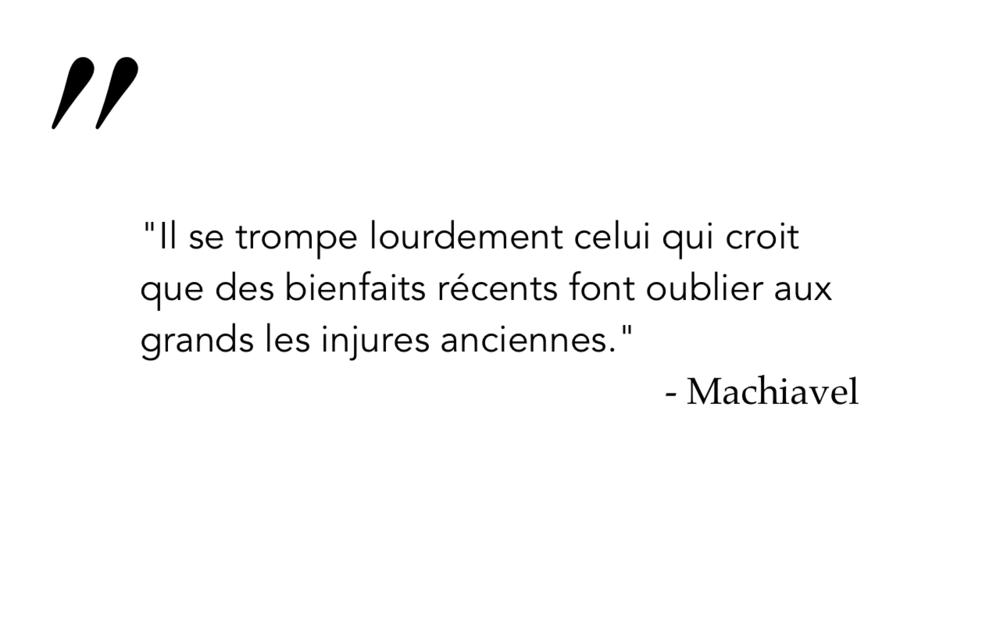 Machiavel 5