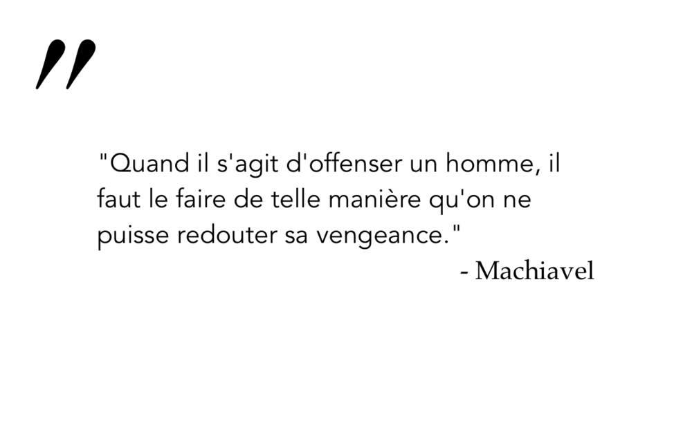Machiavel 6
