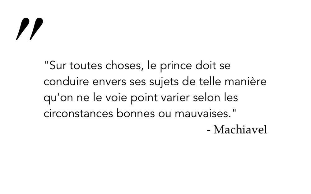 Machiavel 7