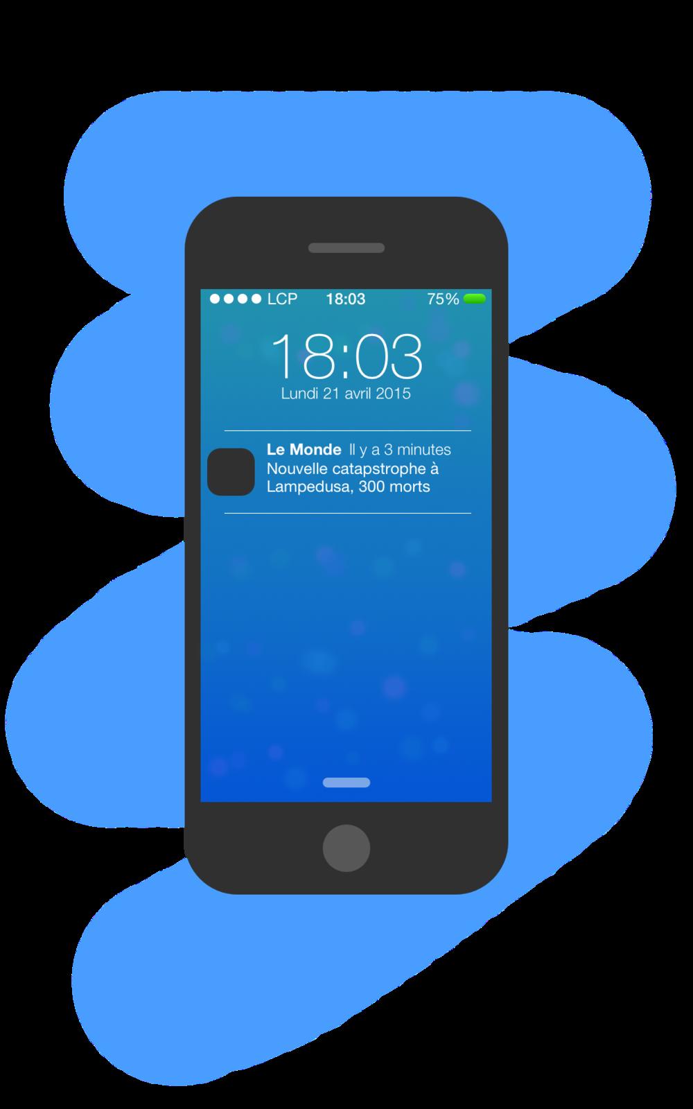 iPhone Lampedusa