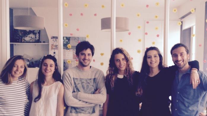 L'équipe de Voxe, dans ses locaux