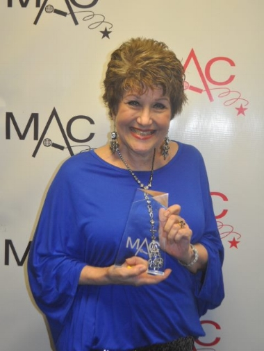WINNER  - Best Musical Comedy Performer-   MAC Award 2012