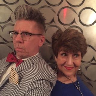 Charles Baran & Joan at The Salon (NYC)
