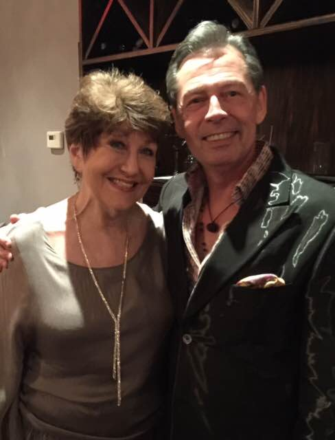 Joan Jaffe  appeared with host Mark Watson - The Salon (NYC)