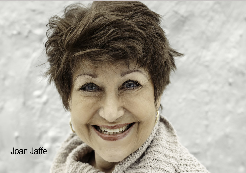 JOAN JAFFE  - Headshot by Matt Baker
