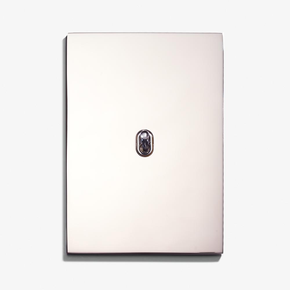 LVL-USA - 82 x 117 - 2 INV Ellipse - Hidden Screws - Straight Edge - Nickel Brillant