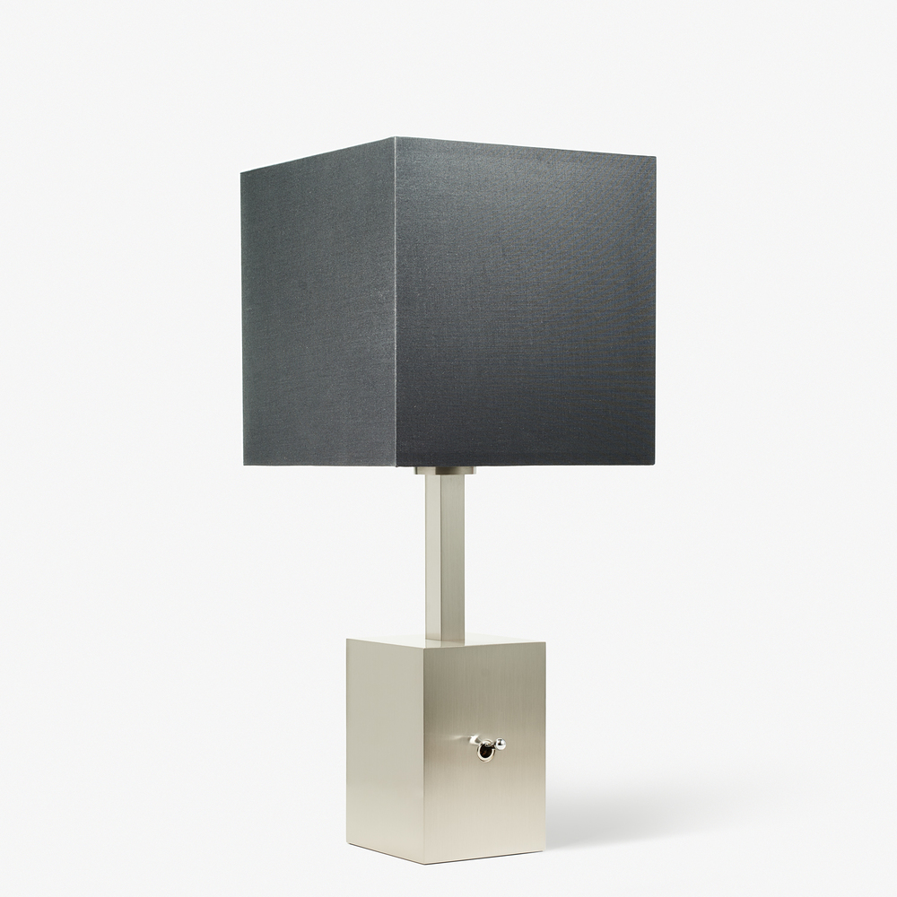 LVL-USA - Table Lamp - Montmartre - Nickel Brossé Base
