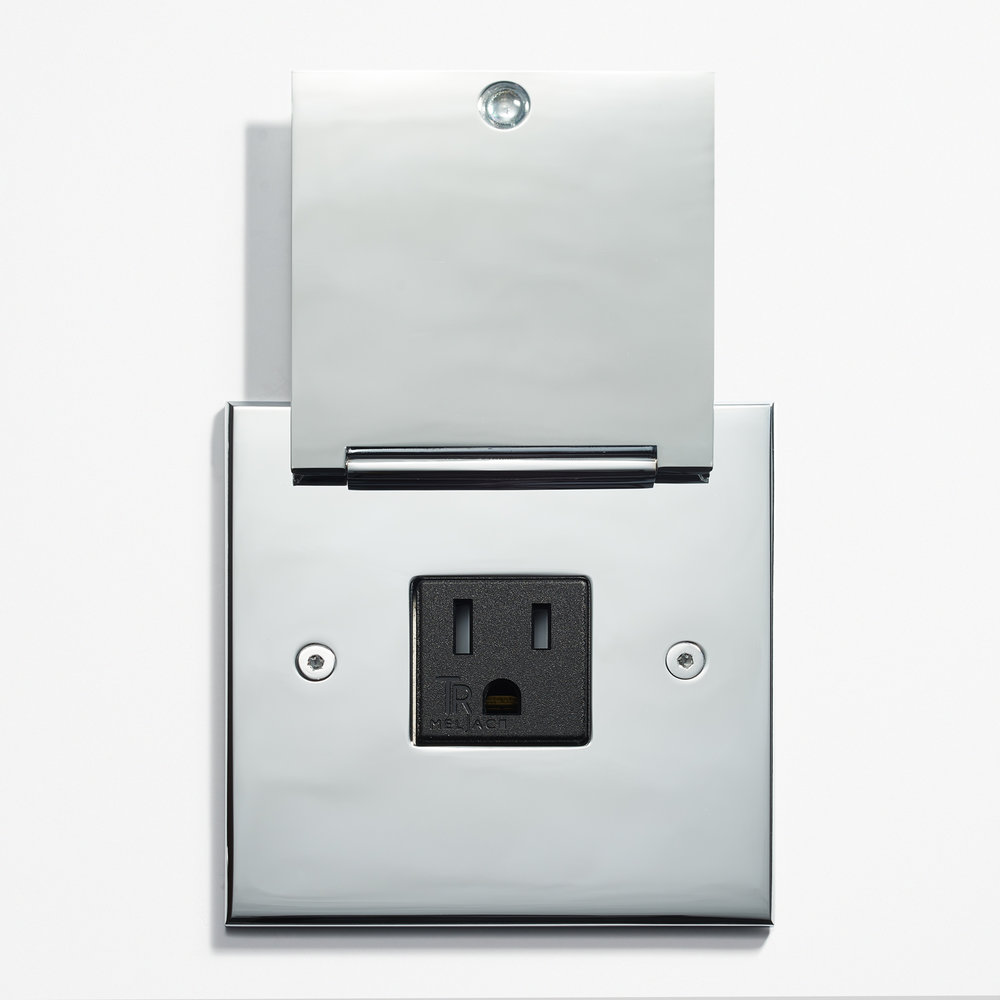 LVL-USA - 90 x 90 - Kitchen Outlet - Cover - Chromé Vif