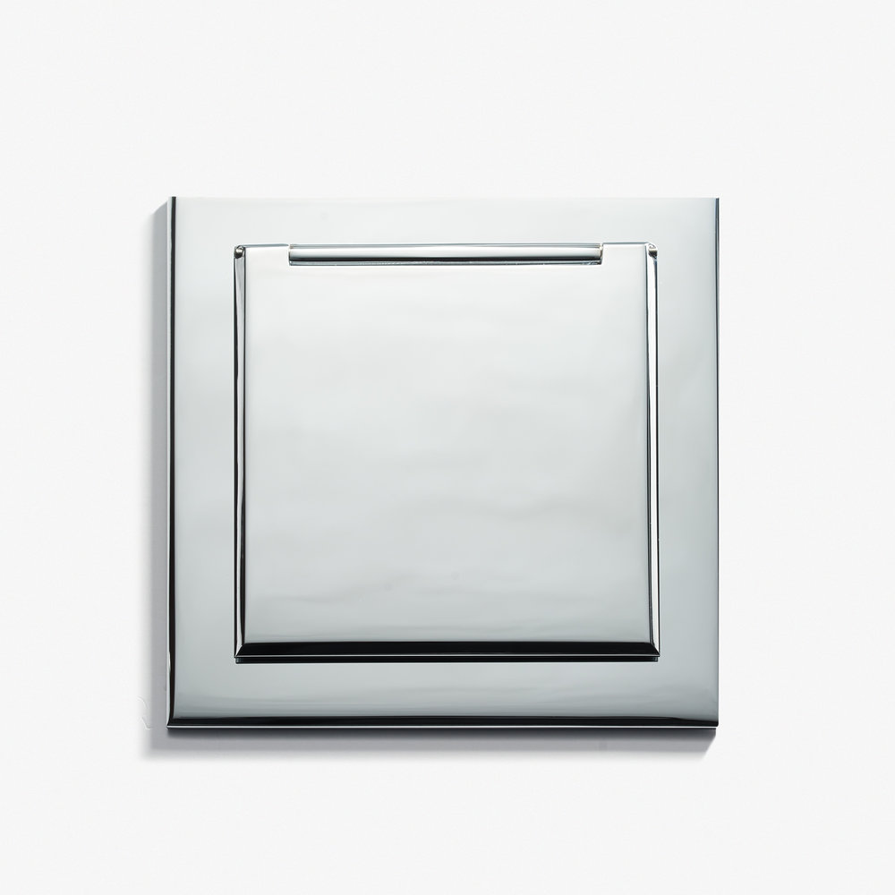 "Kitchen Outlet - Cover<a href=""/90-x-90-kitchen-outlet-cover-chrome-vif""></a><strong>Chromé Vif</strong>"