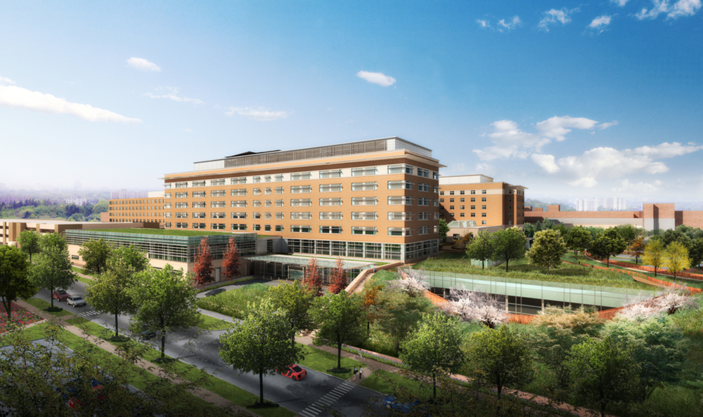 Artist rendering of the new Reading HealthPlex for Advanced Surgical & Patient Care