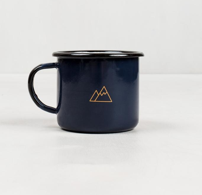 United By Blue Atlantic Enamel Steel Mug. Image: www.unitedbyblue.com