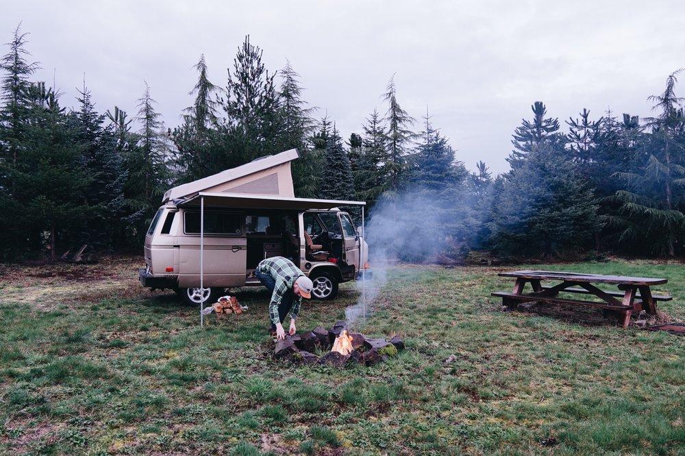 Van life campervan