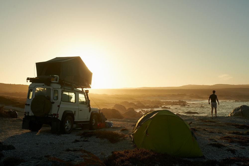 Rooftop camper