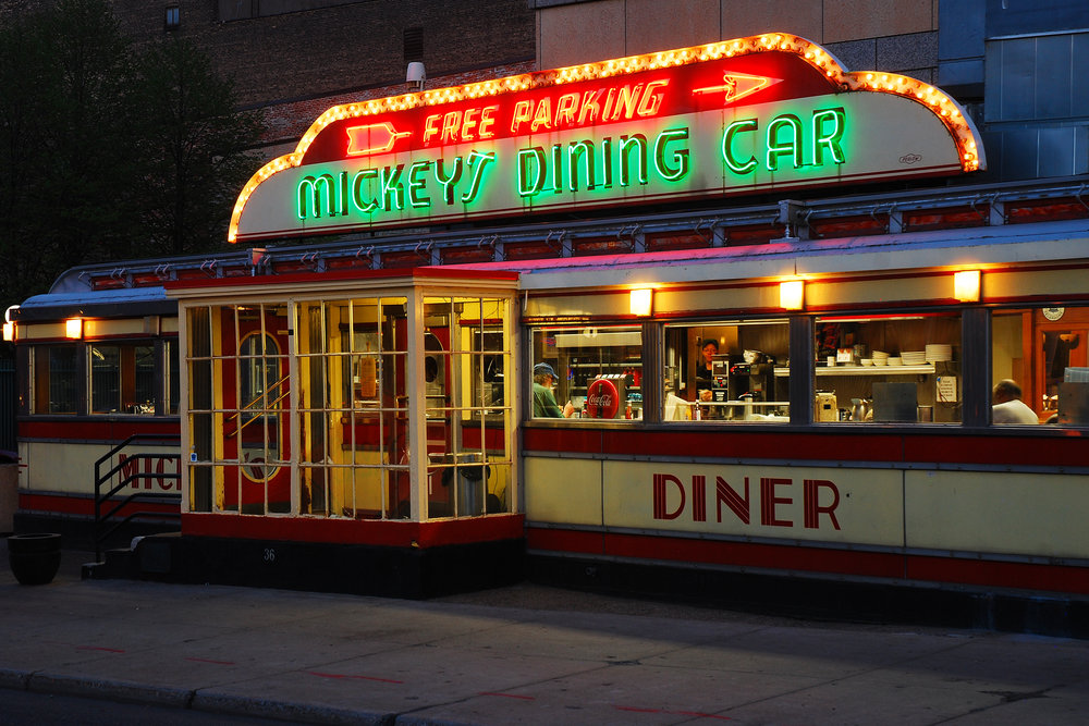 Mickey's Diner in St Paul, Minnesota