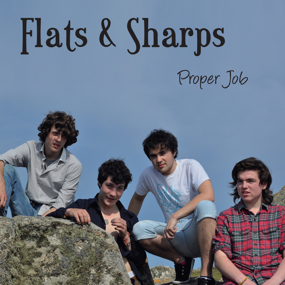 Artist:  Flats & Sharps   Title:  Proper Job   Credit:  Mastering   Year:  2012