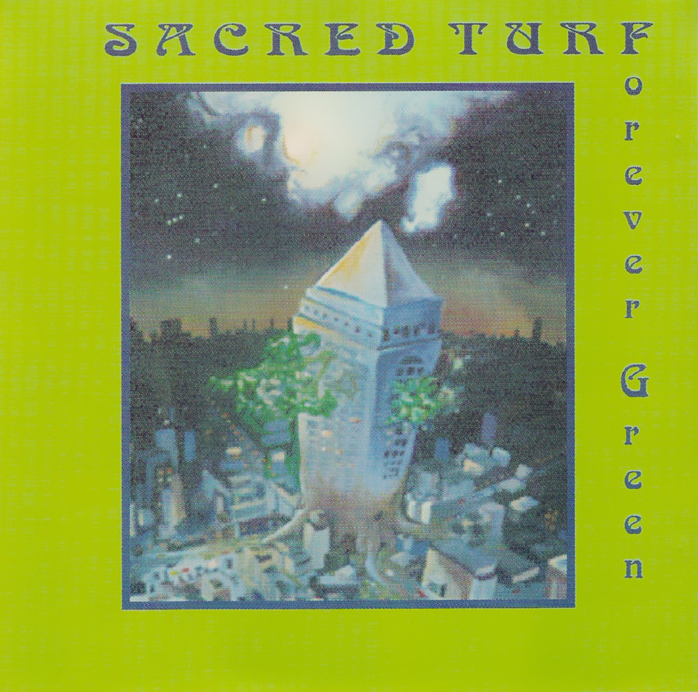 Artist:  Sacred Turf   Title:  Forever Green EP   Label:  Great West Records   Credit:  Performer (Drums)   Year:  1997
