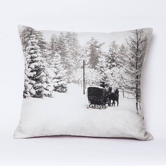 Even though summer is around the corner, there's still nothing cozier than a picture of a winter scene! This sweet throw pillow features a vintage black and white photograph of Sleigh Ride at Park Hotel, Gstaad, Switzerland, taken in the winter of 1924. The front of the pillow is 100% washed cotton linen canvas with a luxurious 100% cotton velvet on the back. Comes with an antique brass zipper in your choice of black or red! See more at the link in bio!👆 • • #etsyfinds #design_by_naomi #throwpillows #etsy #decorativepillows  #etsygifts #vintage #shoplocal #shopetsy #homedecor #vintagepic #etsylove #countryliving #giftideas #etsyseller #homewares #interiordesign #homedecoration #travel #sanfrancisco #santacruz #etsyshop #interiordesigner #cainteriordesigner #buyer #merchandise #homeaccessories #designinspiration #gifts #winteriscoming