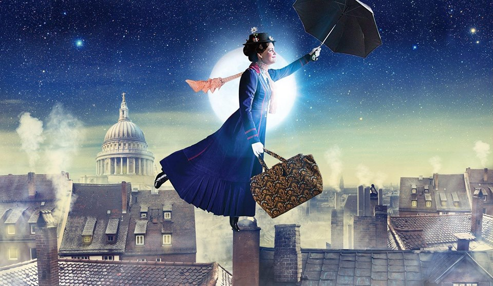 Promotional image for Mary Poppins at Village Theatre. Photo by Mark Kitaoka