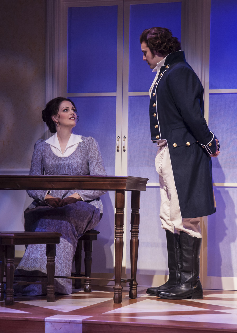 Persuasion at Taproot Theatre. Photo by Erik Stuhaug
