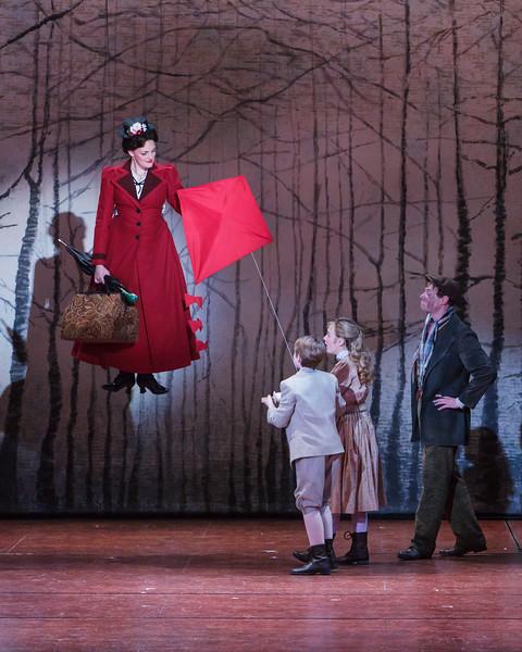 Mary Poppins  at Village Theatre. Photo by Mark Kitaoka