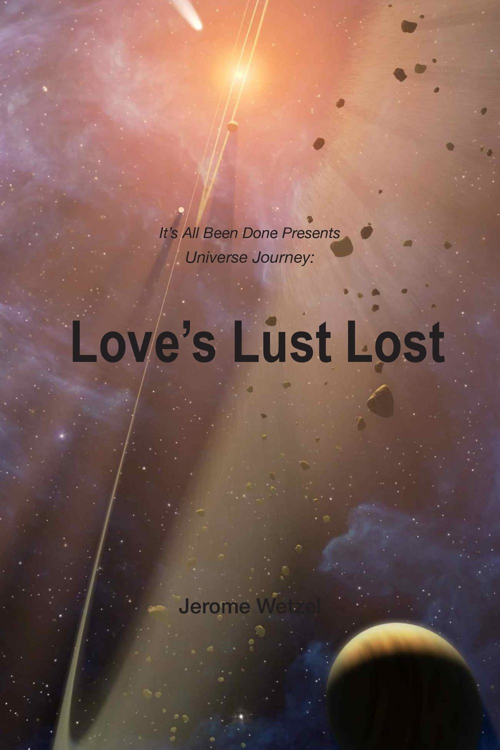 Love's Lust Lost - Captain Richard Kahkay is the bold, brash commander of the A.S.S. Thrifty. But how did he get there? And who is Grace Thomas, a woman from the captain's past? Find out the answers to these questions and more as we join Kahkay on his journey to becoming the leader of the crew.This is a spin-off of the live theatre show and podcast, It's All Been Done Radio Hour. It is an origin story of sorts, so you do not need to be familiar with the voice performance series to enjoy it.