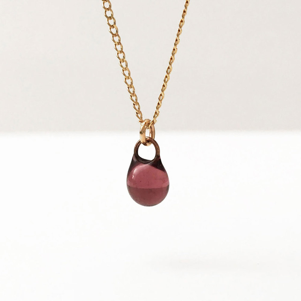 linz droplet diamond necklace kai products jewelry