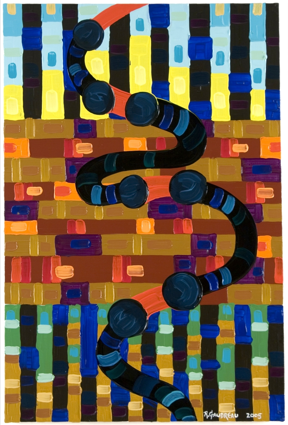 Hose     2005 oil on linen 36 x 24 inches