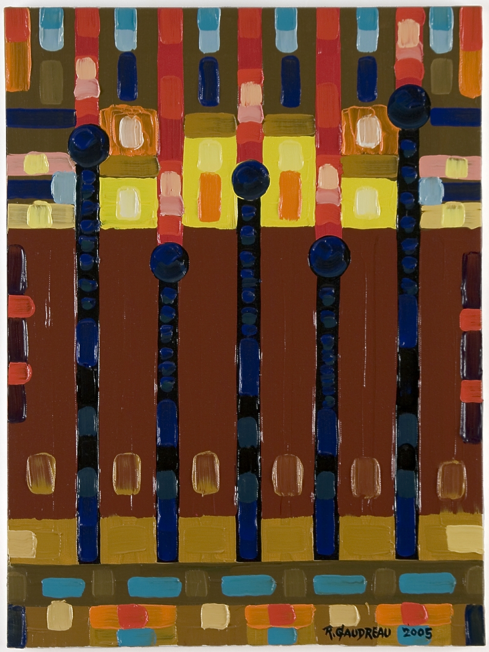 Nails     2005 oil on canvas 20 x 16 inches