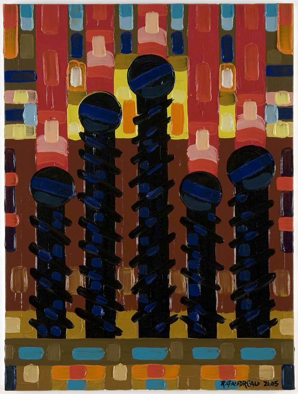 Screws     2005 oil on canvas 20 x 16 inches