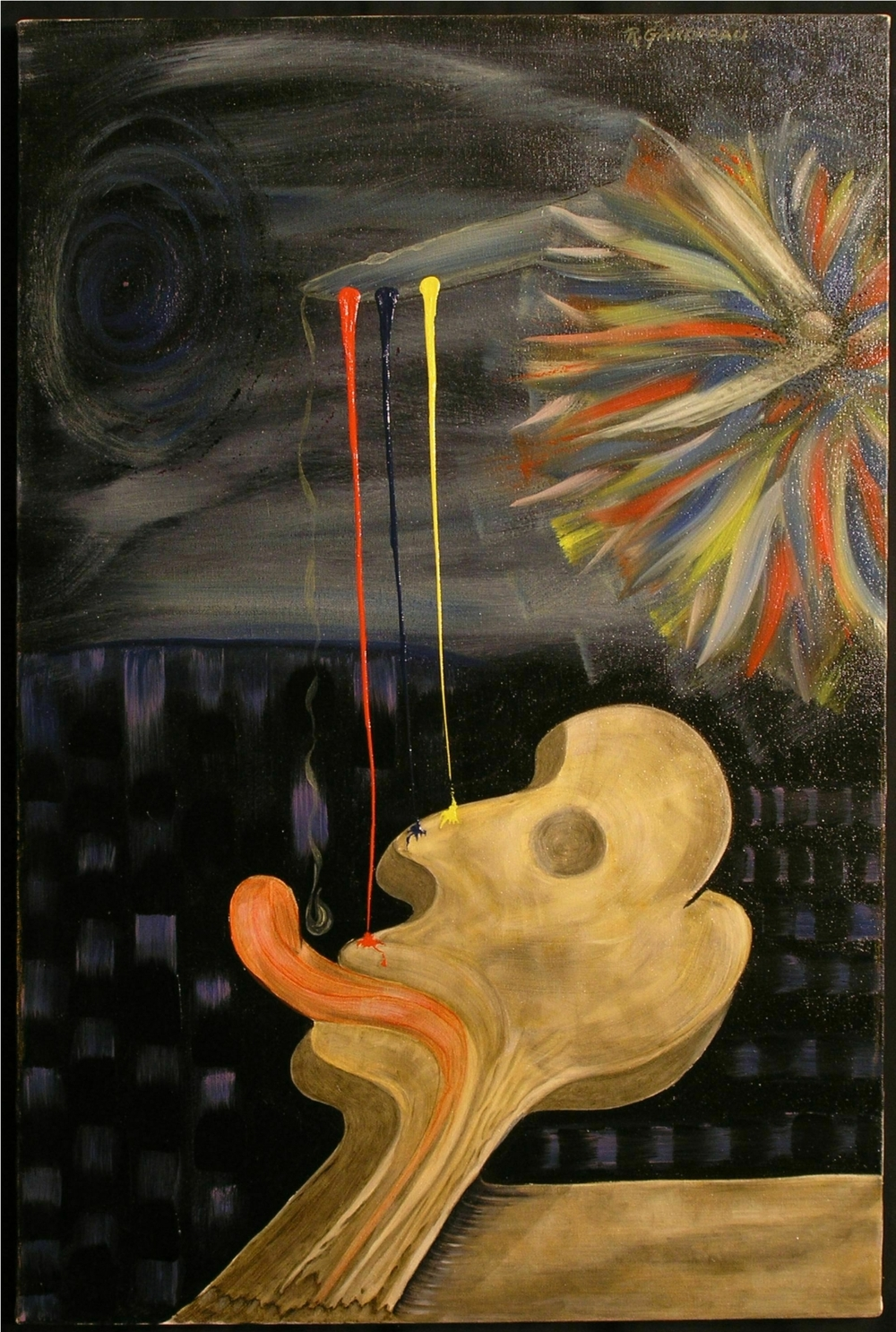 Appetite for Painting    1997 oil on canvas 30 x 20 inches