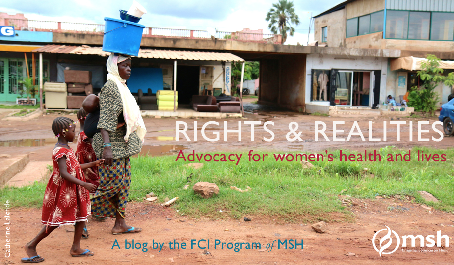 "Visit ""Rights & Realities,"" a blog by the FCI Program of MSH"
