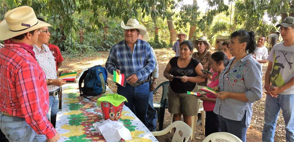 Cesar Shares Gospel using potholders!