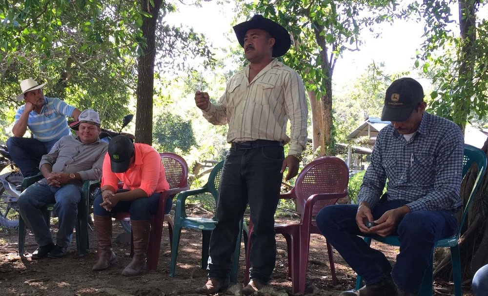 "David, a rancher from Poncaya, Honduras, shares his first act of obedience to Jesus in a Christian Rancher group. ""I'm not going to kill anybody!"""