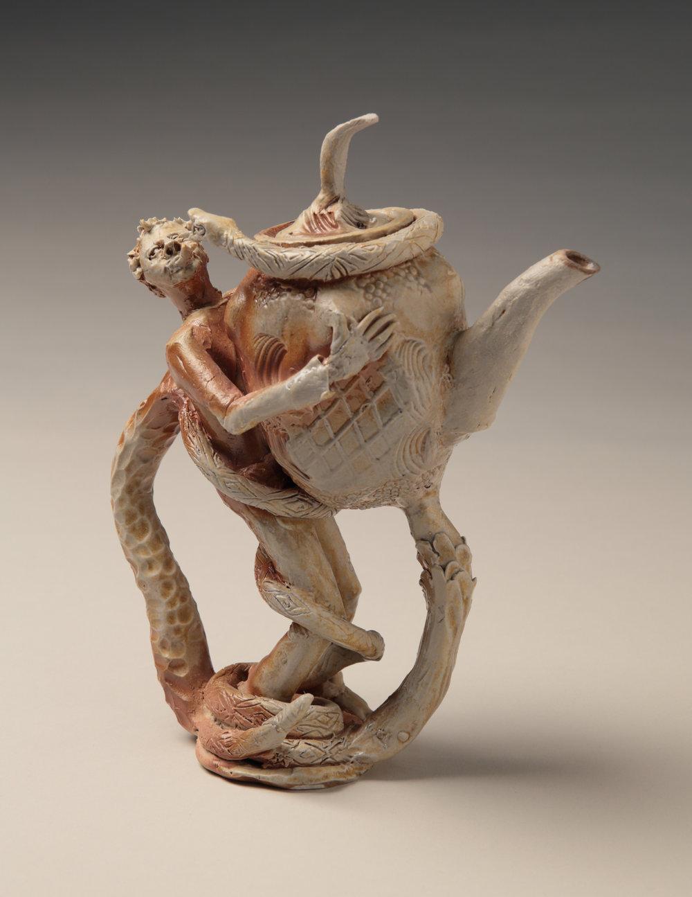 Man Snake Teapot, 2013
