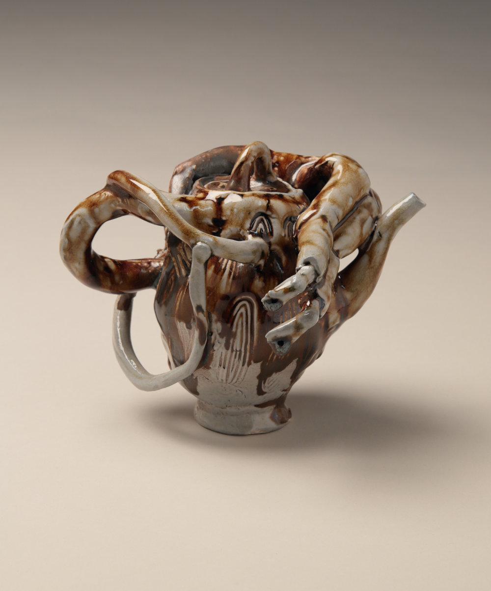 Wraparound Men Teapot, 2013