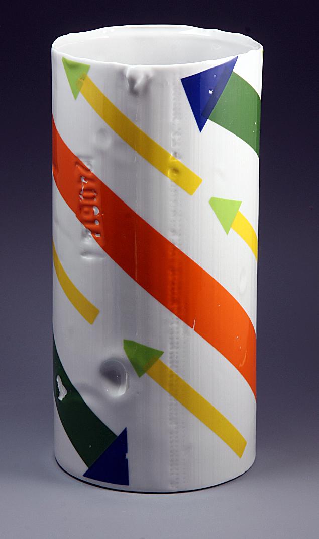 Polychrome Vases