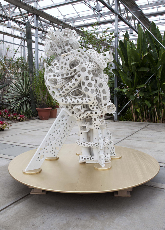 Crutches 2014 72%22x38%22x33%22 porcelain and wood.jpg