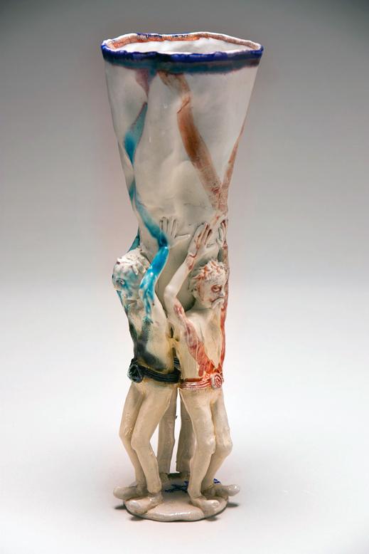 Trio Men Vase 4, 2012