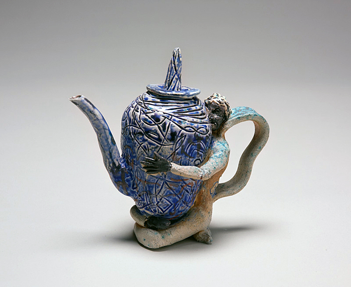 Black Face Blue Pot, 2011
