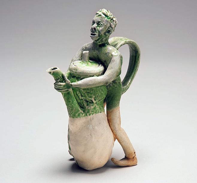 Standing Green Man, 2011