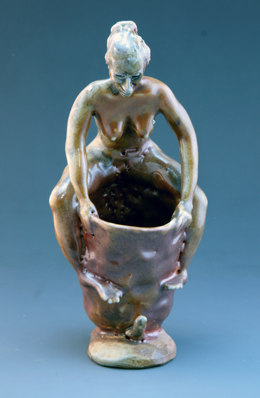 Girl on Cup Rim, 2013