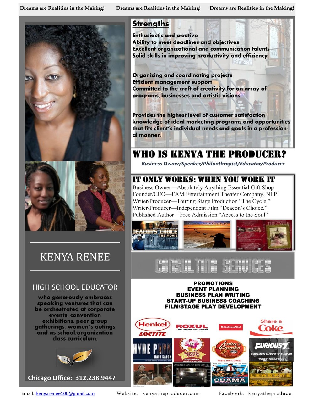 Hire Kenya Renee