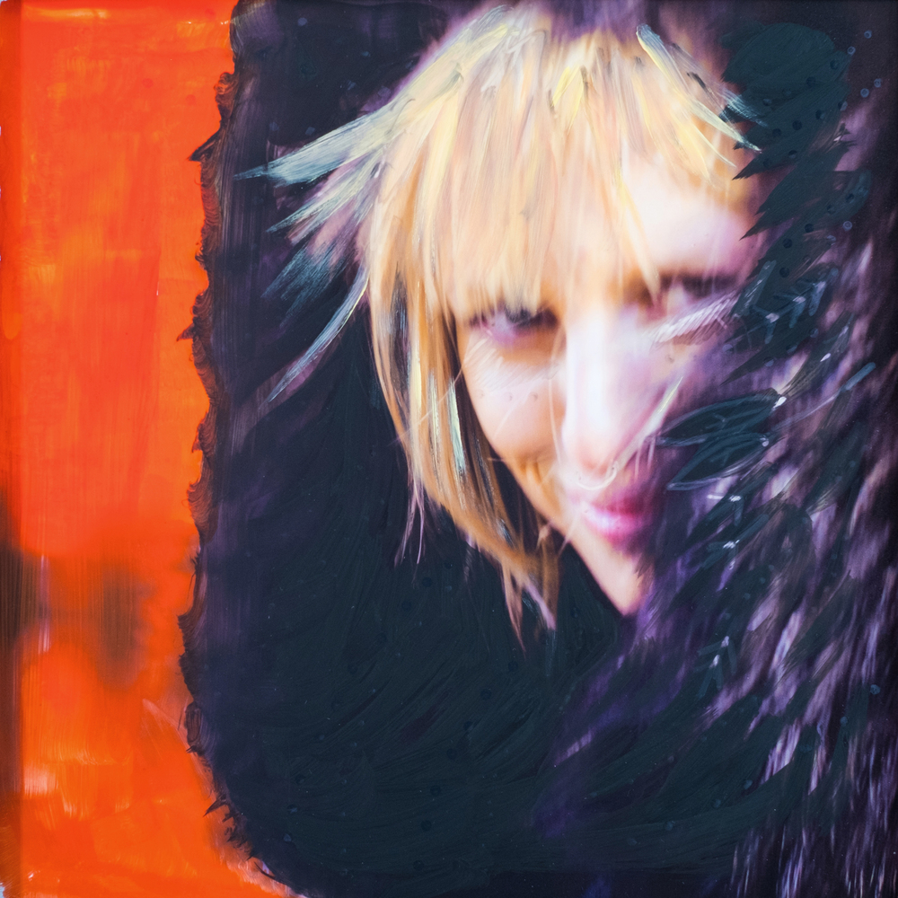#17 TATIANA  (SOLD)  oil, acrylic and uv ink on fine art photo paper