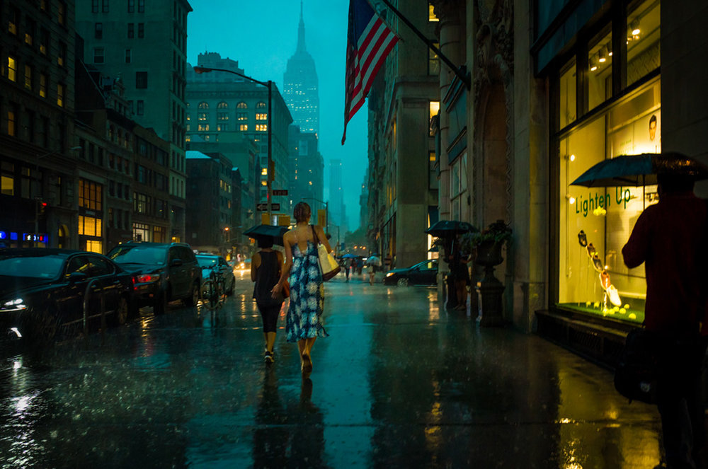 Barefoot in Fifth Avenue