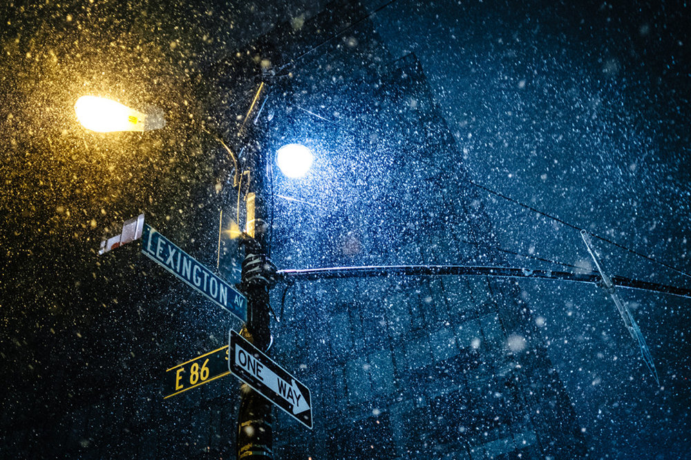 Upper East Side under the Snow