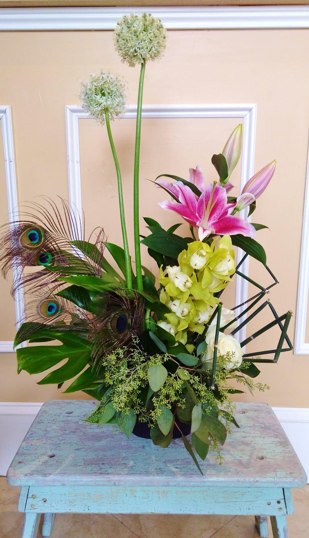 B2 $100-$200 Contemporary arrangement. $100 as shown.