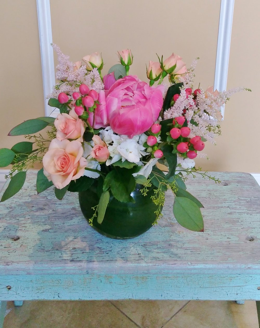 A1 $60 - $85 Cluster-style arrangment. $60 as shown.