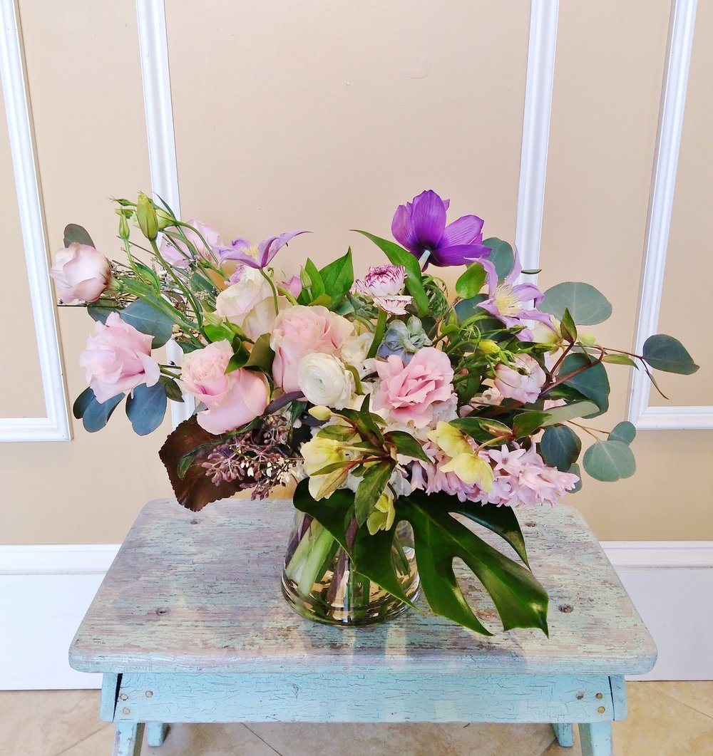 A11  $60 - $85 Cluster-style arrangements. $70 as shown.