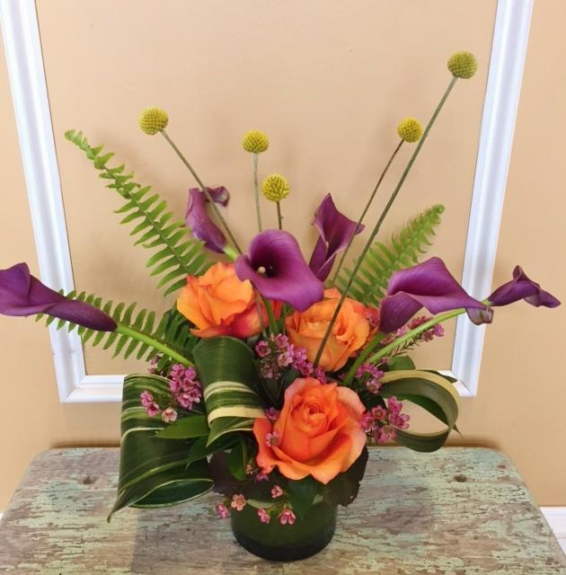 A2 $75-$150 Contemporary arrangement. $100 as shown.