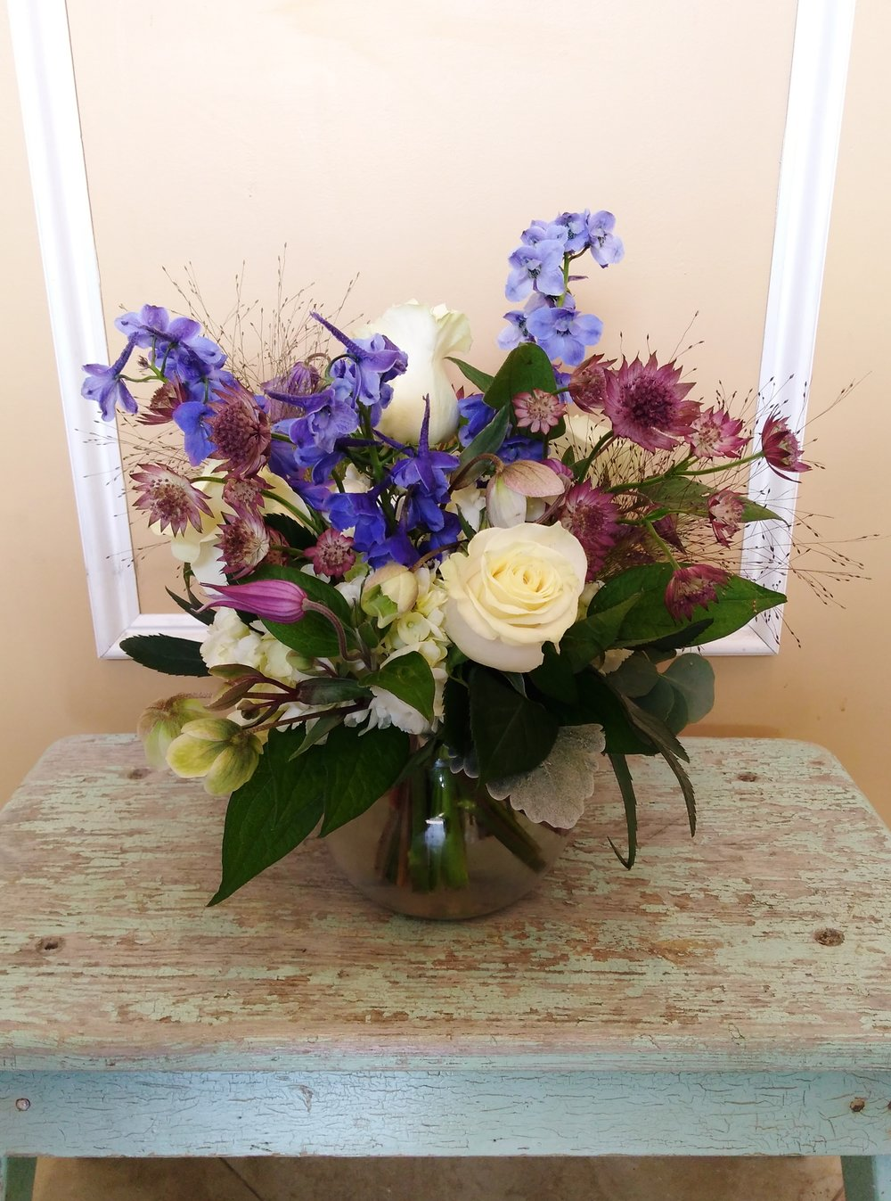 A4 $60-$85 Cluster-style arrangement. $60 as shown.